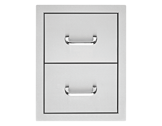 17″ Double Storage Drawers